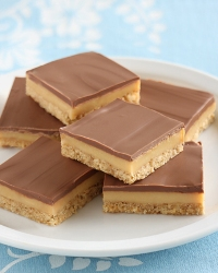 Caramel slice full