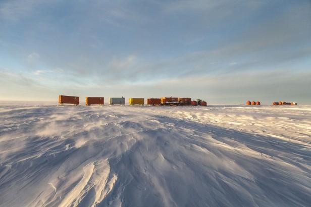 ANTARCTIQUE : Le convoi de ravitaillement de Concordia