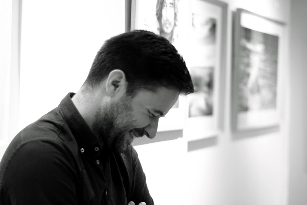 Matthieu Suprin: «J'ai un amour de l'humain qui est là. C'est pour cela que je fais des portraits.»